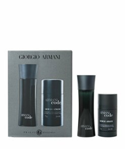 Set cadou Giorgio Armani Code (Apa de toaleta 75 ml + Deostick 75 ml), pentru barbati