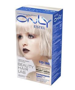 Vopsea-gel permanenta pentru par Estel Only, 10/36 Blond deschis auriu-violet, 115ml