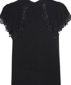 Lace Detail Black