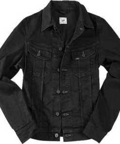 Lee Jeansjacke clean black L888/JBCS