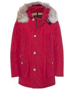 Slim Arctic Parka Red