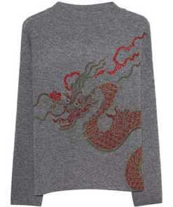 Dragon Sparkling Shark Skin Grey