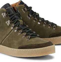 Sneaker von Tommy Hilfiger in grün für Herren. Gr. 40,41,42,43,44,45,46