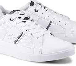 Sneaker Europa 417 1 von Lacoste in weiß für Herren. Gr. 45