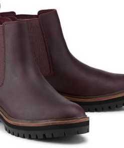 Boots London Square von Timberland in bordeaux für Damen. Gr. 37,38,38 1/2,39,39 1/2,40,41