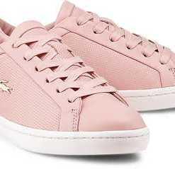 Sneaker Straightset von Lacoste in rosa für Damen. Gr. 39,41