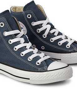 Sneaker Ctas Core Hi von Converse in blau für Damen. Gr. 36,36.5,37,37.5,38,39,39.5,40,41,42