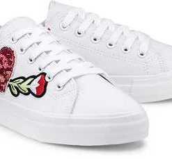 Trend-Sneaker von Tamaris in weiß für Damen. Gr. 36,39,40,41