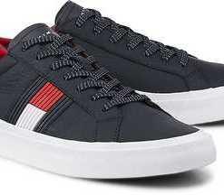 Fashion-Sneaker von Tommy Hilfiger in blau für Herren. Gr. 41,42,43,44,45