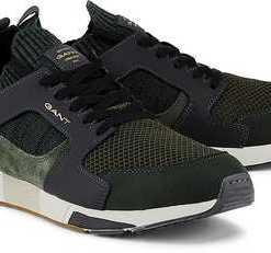 Sneaker Andrew von Gant in grün für Herren. Gr. 40,41,42,43,44,45,46