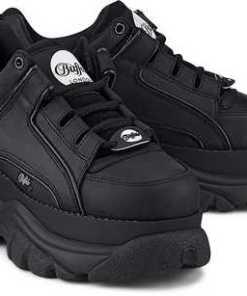 Platform-Sneaker von Buffalo London in schwarz für Damen. Gr. 37,39,40,41