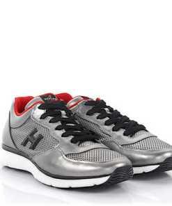 Hogan Rebel Sneaker Gym T2015 Leder silber