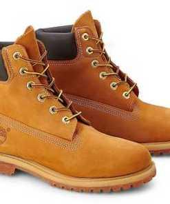 """""""Boots Premium 6"""""""" von Timberland in ocker für Damen. Gr. 36"""""""