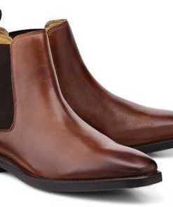 Chelsea Boots Mayfair von Steptronic in braun für Herren. Gr. 40,41,42,43,44,45,47