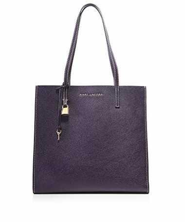 Marc Jacobs Damen die Grind-Shopper-Tasche Traube