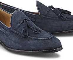 Loafer Falletto von Greve B.V. in blau für Herren. Gr. 42 2/3,44,44 2/3,45 1/3