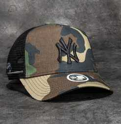 New Era 9Forty Women Camo Team New York Yankees Cap Woodland Camo