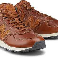 Winter-Sneaker 574 von New Balance in braun für Herren. Gr. 42 1/2,43,44,44 1/2,45,45 1/2,46 1/2