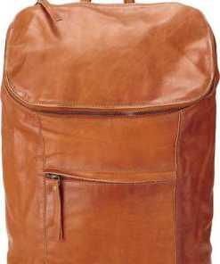 Leder-Rucksack von Cox in braun für Damen