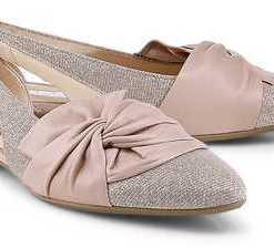 Cut-Out-Ballerina von Gabor in rosa für Damen. Gr. 37,37 1/2,38 1/2,39,40 1/2,41
