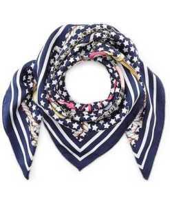 Seiden-Halstuch von Codello in blau für Damen