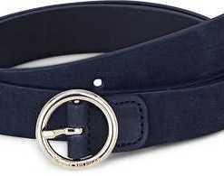 Round Buckle Suede von Tommy Hilfiger in blau für Damen. Gr. 80 cm,85 cm,90 cm,95 cm