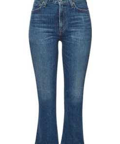 Citizens of Humanity High Rise Cropped Flared Jeans Demy