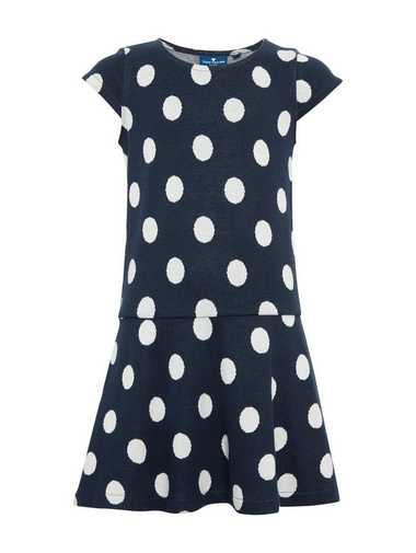 TOM TAILOR A-Linien-Kleid »Gepunktetes Kleid«