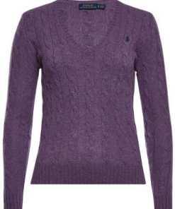 Polo Ralph Lauren Zopfstrick-Pullover Kimberly aus Merinowolle und Kaschmir