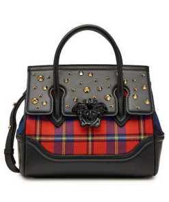 Versace Handtasche Palazzo Empire aus Leder mit Nieten