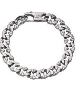 NOX Armband »Edelstahl glanz«