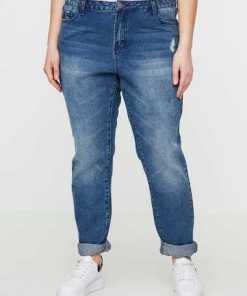 JUNAROSE Boyfriend- Jeans
