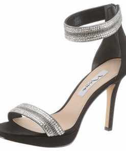 Nina »Aubrie« High-Heel-Sandalette mit schmuckbesetzten Riemchen