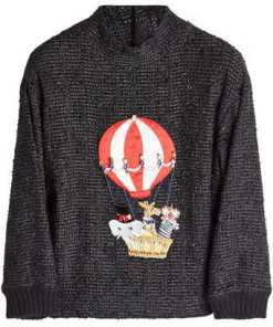 Dolce & Gabbana Bestickter Rundhalspullover mit Kaschmir und Décor