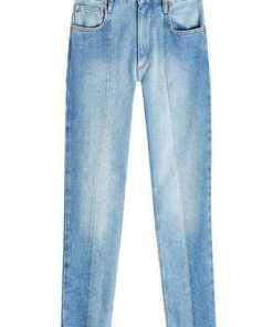 Isabel Marant Étoile Cropped Jeans mit asymmetrischem Saum
