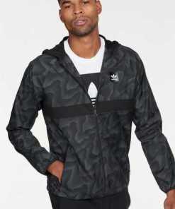 adidas Originals Windbreaker »BLACKBIRD WARP WIND JACKET« Komplett mit Mesh gefüttert