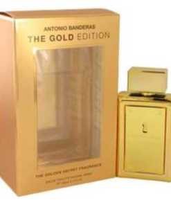 The Golden Secret Cologne by Antonio Banderas, 100 ml Eau De Toilette Spray (The Gold Edition) for Men
