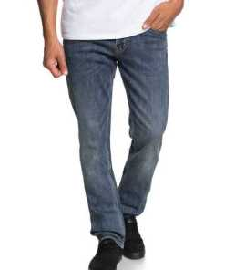 Quiksilver Straight Fit Jeans »Revolver Medium Blue«