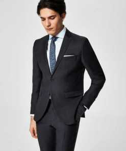 Selected Homme Slim-Fit-Blazer aus Wolle