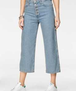Wrangler Boyfriend-Jeans »RETRO CROP« in 7/8 Länge, weiter Beinform