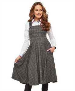 Joe Browns Trägerkleid »Joe Browns Damen Kariertes Schürzenkleid«