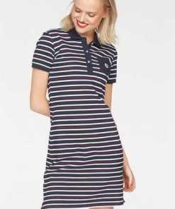 JOTT Jerseykleid »RIVERSIDE« in mehrfarbiger Streifen-Optik