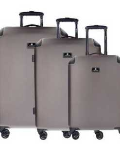 CHECK.IN® Manchester 4-Rollen Kofferset 3tlg. mit Doppelrollen
