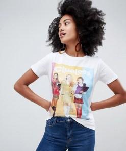 """New Look - T-Shirt mit """"Clueless""""-Schriftzug - Weiß"""