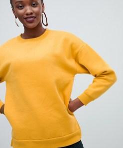 New Look - Sweatshirt - Gelb