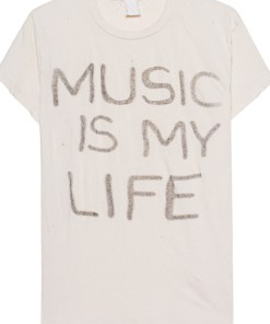 Music is my Live Off-White