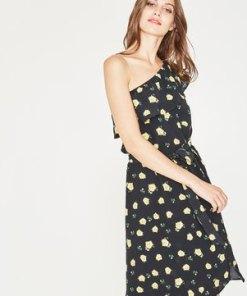 One-Shoulder-Kleid