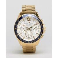Tommy Hilfiger - 1791121 Luke - Armbanduhr aus rostfreiem Edelstahl - Gold