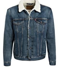 Levi's® Jeansjacke mit Teddyfell-Futter
