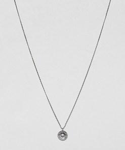 DesignB - Halskette aus Sterlingsilber mit Münzanhänger